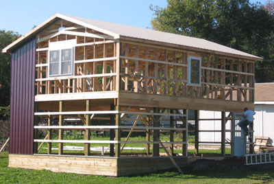 2 story pole barn house plans plans diy free download how for Two story pole barn homes
